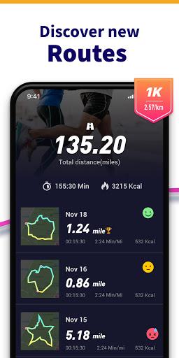 Running App - Run Tracker with GPS, Map My Running screenshot 2