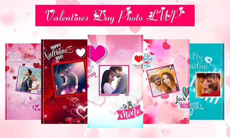 Valentines Day Photo LWP 1 تصوير الشاشة