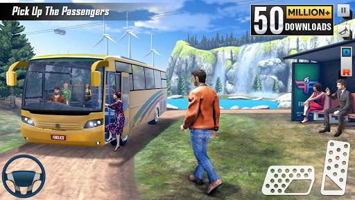 Modern Bus Simulator New Parking Games – Bus Games screenshot 1