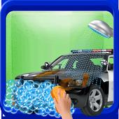 Messy Police Car Wash Salon icon