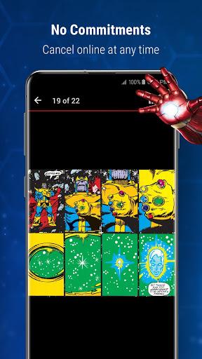 Marvel Unlimited 7 تصوير الشاشة