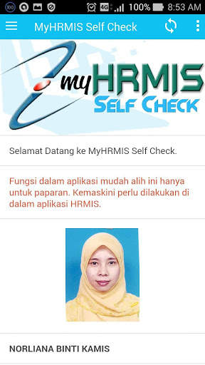 MyHRMIS Self Check screenshot 3