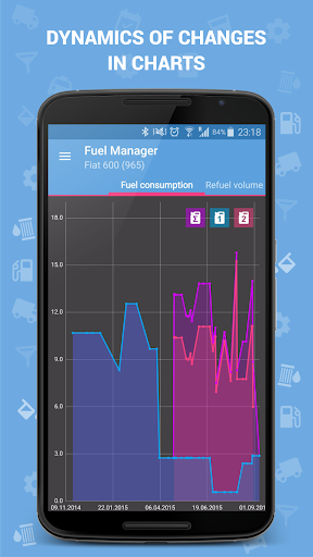 Fuel Manager (Consumption) 4 تصوير الشاشة