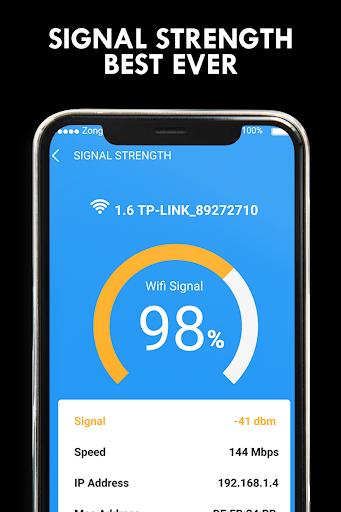 Wifi Password Hacker Prank & SpeedTest Master Lite screenshot 4