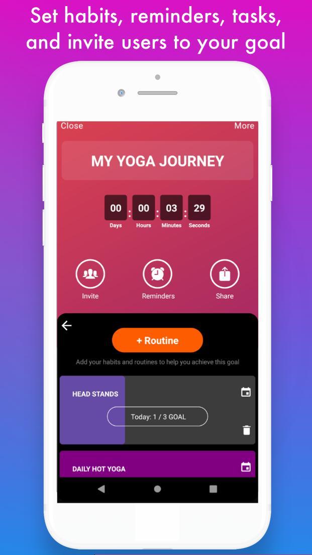 Vervo - Goal tracker & habit tracker app screenshot 6