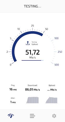Speed Test Light 5G / 4G LTE / WiFi screenshot 2