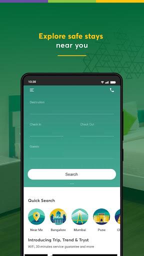 Treebo: Hotel Booking App | Book Safe Stays 2 تصوير الشاشة