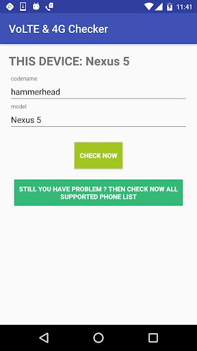VoLTE & 4G, 5G Phone Checker with BharatNamo 5G 2 تصوير الشاشة