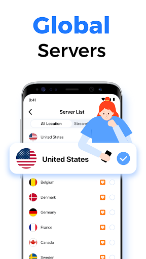 SkyVPN-Best Free VPN Proxy for Secure WiFi Hotspot screenshot 3