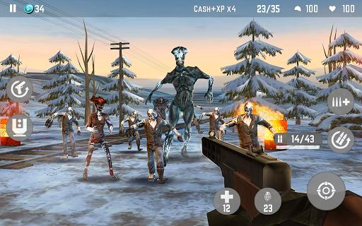 ZOMBIE Beyond Terror: FPS Survival Shooting Games screenshot 7