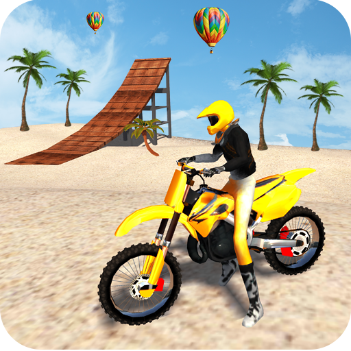 Motocross Beach Game: Bike Stunt Racing icon