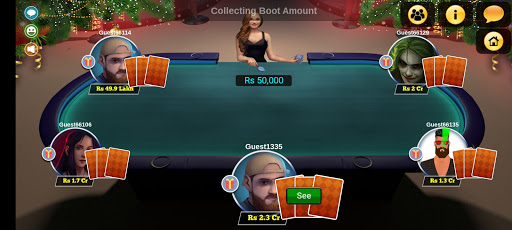 Teen Patti Royal - 3 Patti Online & Offline Game 3 تصوير الشاشة