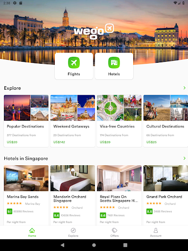 Wego Flights, Hotels, Travel Deals Booking App screenshot 17