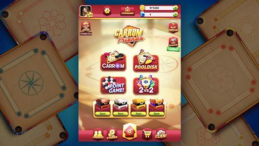 Carrom Friends : Carrom Board & Pool Game 6 تصوير الشاشة