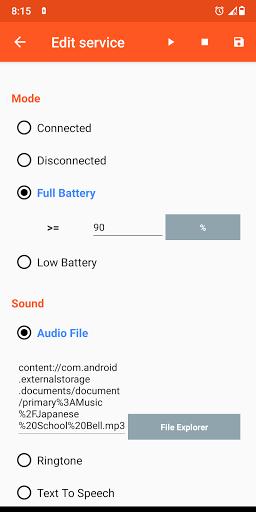 Battery Sound Notification screenshot 8