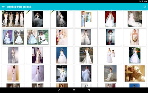 Wedding dress designs! screenshot 6