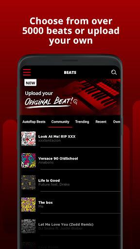 AutoRap by Smule – Make Raps on Cool Beats screenshot 4