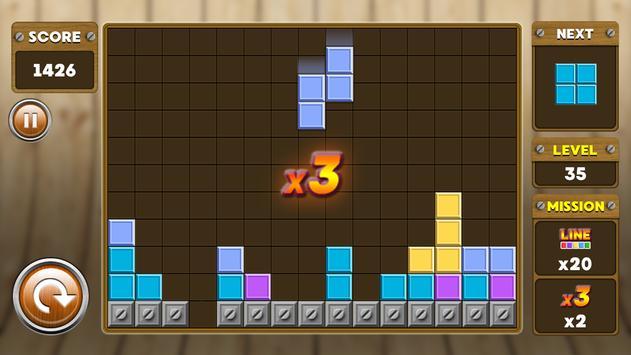 Block Puzzle 3 : Classic Brick 16 تصوير الشاشة