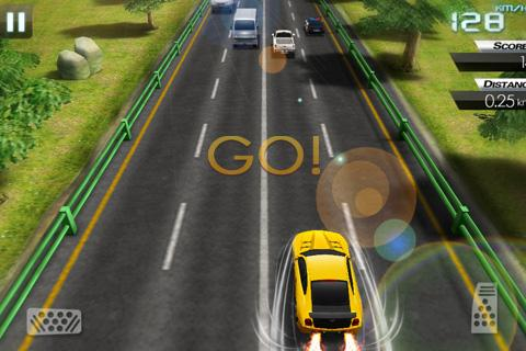 Mini Crazy Traffic Highway Race screenshot 3