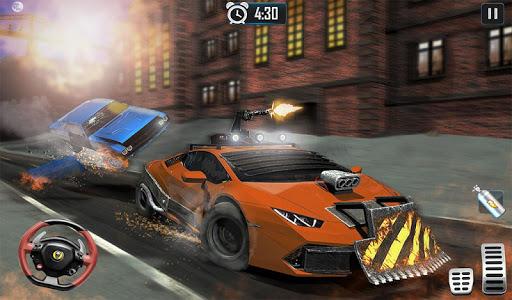 Furious Car Shooting Game: Snow Car war Games 2021 screenshot 13
