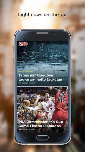 Inquirer Libre Mobile 1 تصوير الشاشة