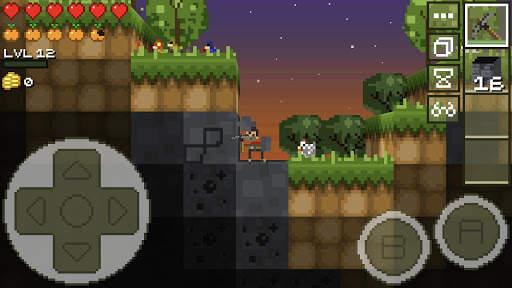 LostMiner: Block Building & Craft Game 2 تصوير الشاشة