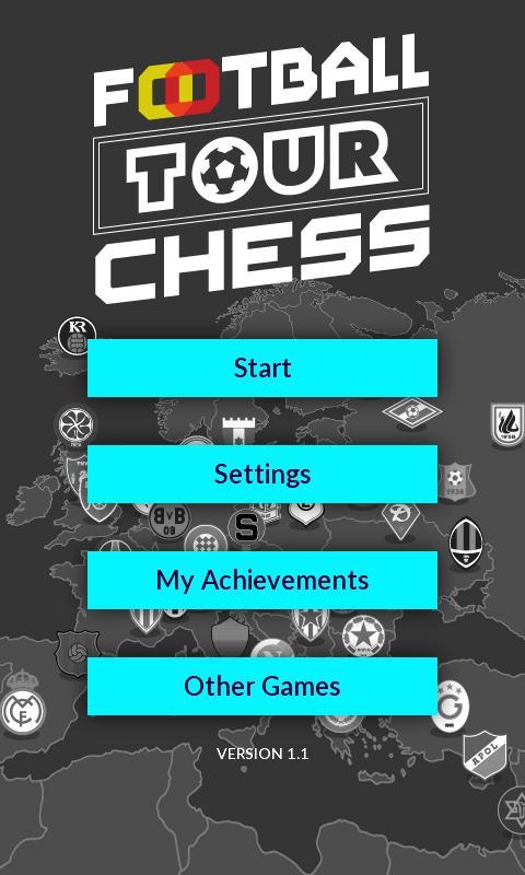 Football Tour Chess 5 تصوير الشاشة
