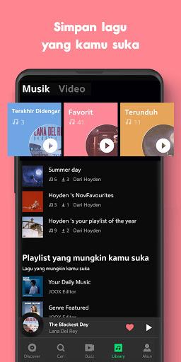 JOOX: Gratis Musik download, Radio dan Karaoke screenshot 3
