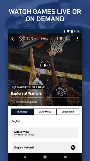 NBA: Live Games & Scores screenshot 5
