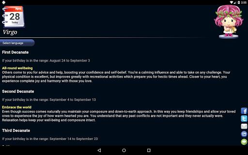 Horoscope HD Free screenshot 8