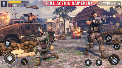 Real Commando Secret Mission - Free Shooting Games screenshot 2