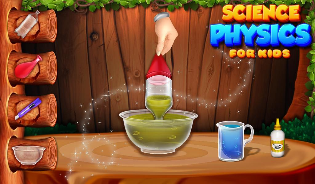 Science Physics For Kids स्क्रीनशॉट 1