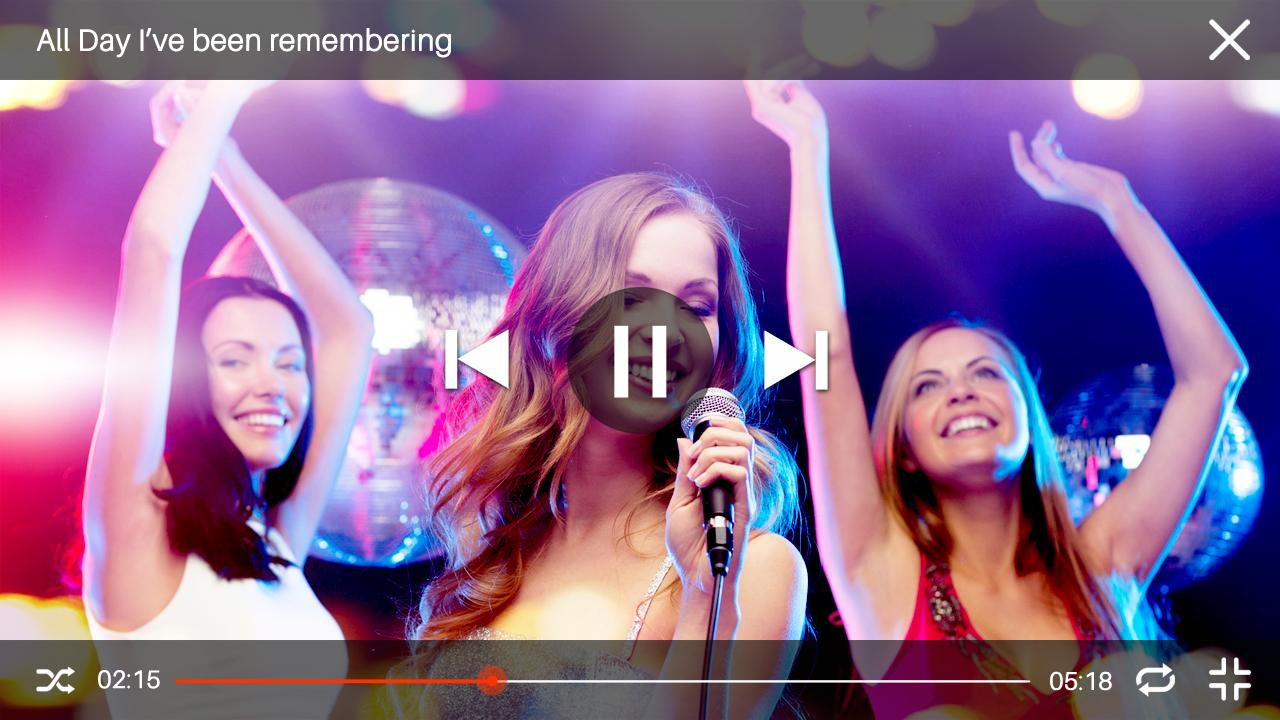 Music Videos Movie Player & Top Songs For YouTube screenshot 1