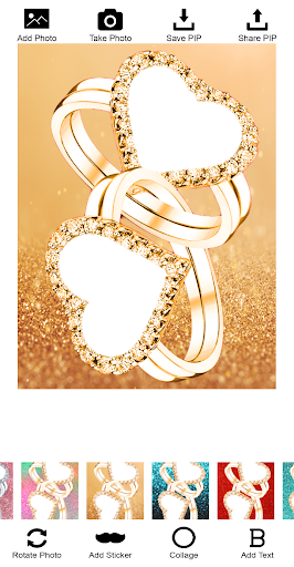 Lovely Ring Photo Frames screenshot 2