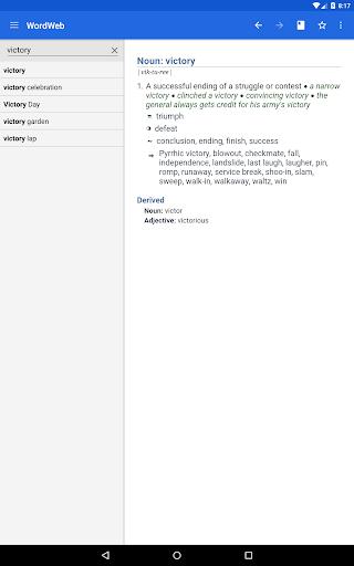Dictionary - WordWeb स्क्रीनशॉट 12