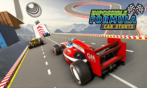 Formula Car GT Racing Stunts- Impossible Tracks 3D screenshot 2