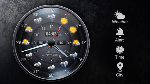Z Style Weather Widget 17 تصوير الشاشة