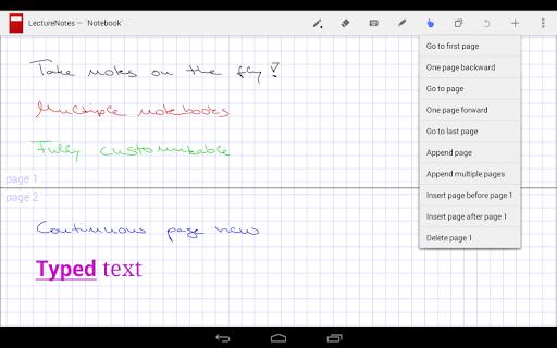 LectureNotes (Trial Version) screenshot 6