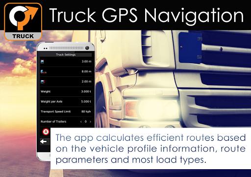 Truck GPS Navigation 12 تصوير الشاشة