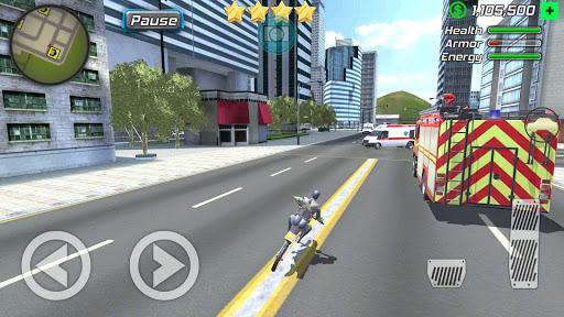 Rope Frog Ninja Hero - Strange Gangster Vegas screenshot 12