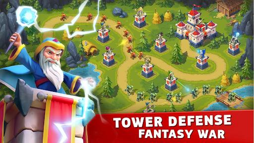 Toy Defense Fantasy — Tower Defense Game screenshot 1