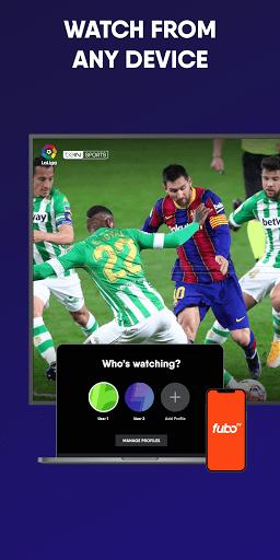 fuboTV: Watch Live Sports, TV Shows, Movies & News 6 تصوير الشاشة