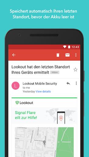 Antivirus & Sicherheit Lookout screenshot 3