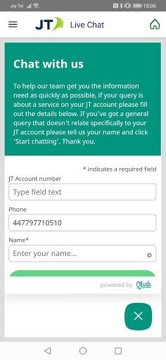 JT My Account 2 تصوير الشاشة
