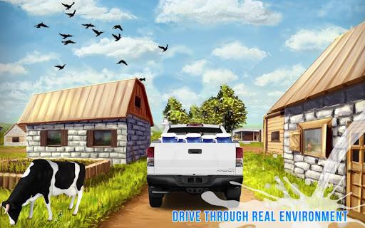 Milk Van Delivery Simulator 2018 screenshot 3