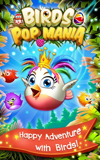 Birds Pop Mania: Match 3 Games Free 6 تصوير الشاشة