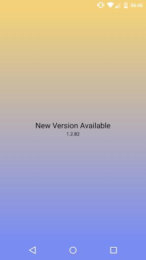 New Version Available 5 تصوير الشاشة