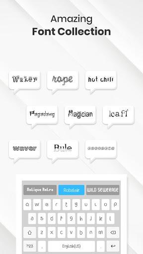 Font Keyboard - Fonts, Emoji & Keyboard Fonts screenshot 1