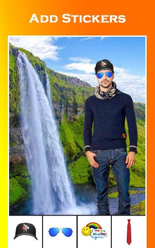 Waterfall Photo Editor - Photo Frames 7 تصوير الشاشة