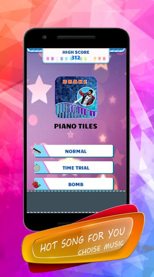 Drake - Piano Tiles स्क्रीनशॉट 2